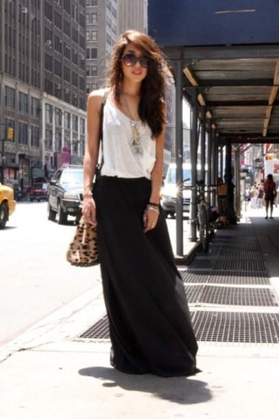 skirt black skirt black maxi skirt maxi skirt