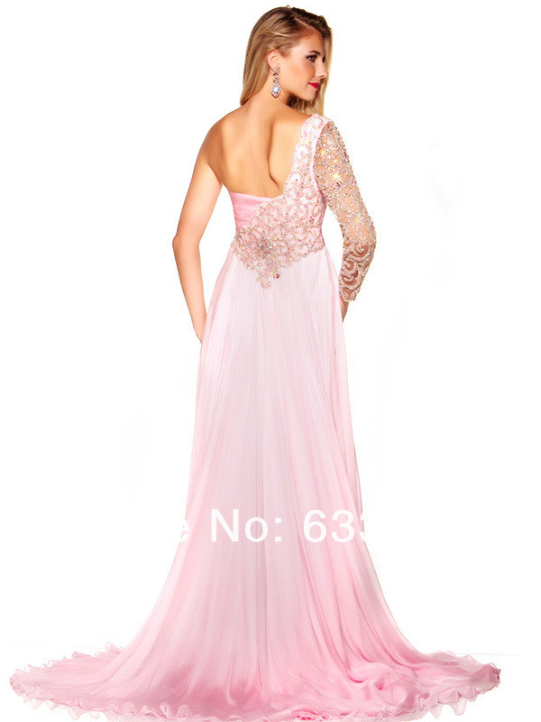 dress long prom dress prom dress pink prom dress cute slit