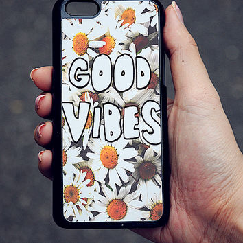Daisy Good Vibes iPhone Case 5/5S 5C 4S/4 on Wanelo