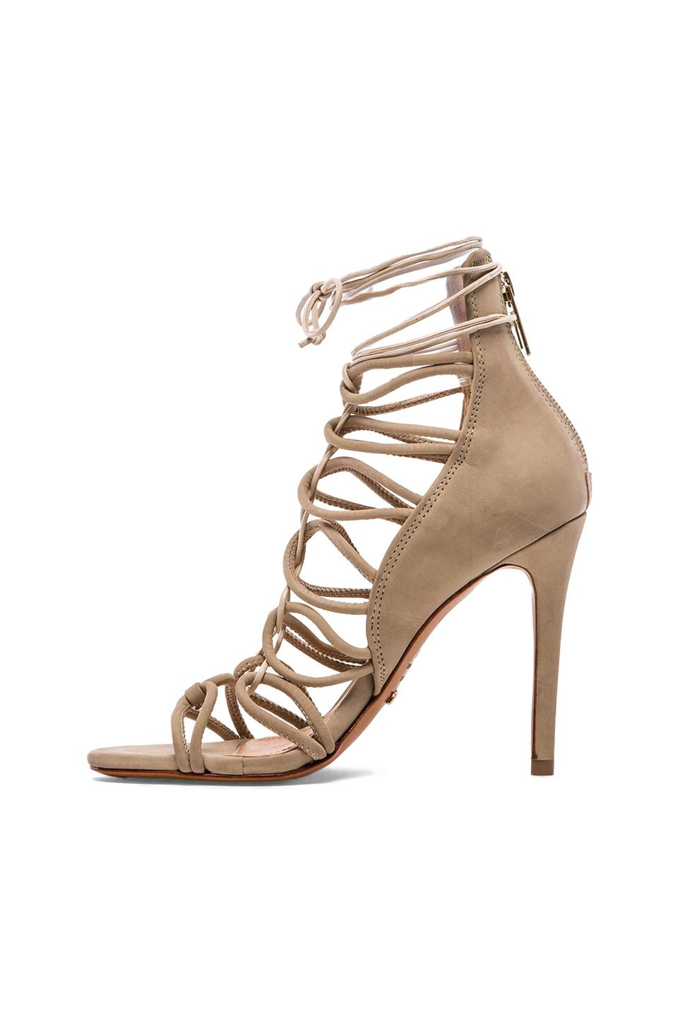 Schutz Fiorenza Heel in Oyster & Sesame from REVOLVEclothing.com