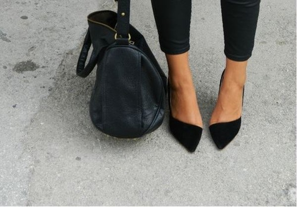 shoes clothes flats class style ballerines noire classe style black shoes ballerina shoes heels classy