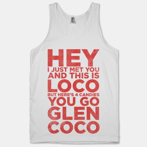 You Go Glen Coco (Call Me Maybe Tank) | HUMAN