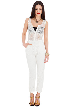 Summer Lace Jumpsuit