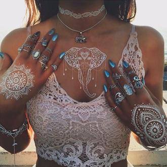 nail accessories nail polish nails electric blue blue nails electric blue nails metallic metallic blue summer mermaid mermaid nails indie boho