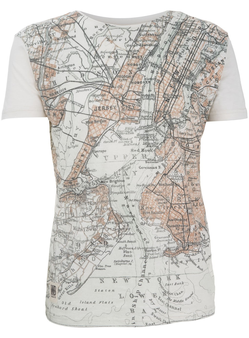 Nyc vintage map t