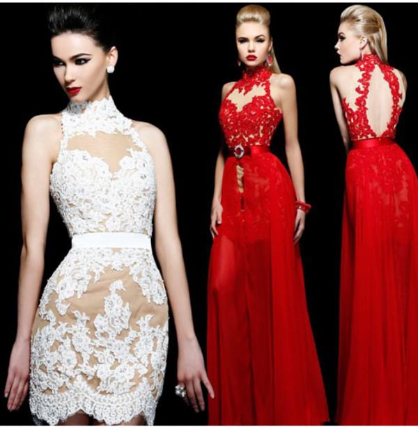 dress lace long prom dress sherri hill chiffon maxi dress sexy dress glamour