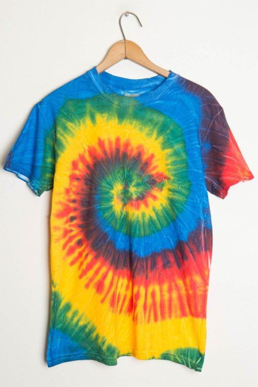 58bdad690d6969 Rainbow Swirl Tie Dye Shirt - Ragstock