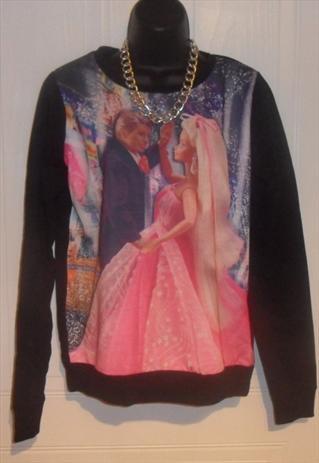 Super fresh barbie ken jumper sweatshirt swag bad girl sz 10 | mysticclothing | ASOS Marketplace