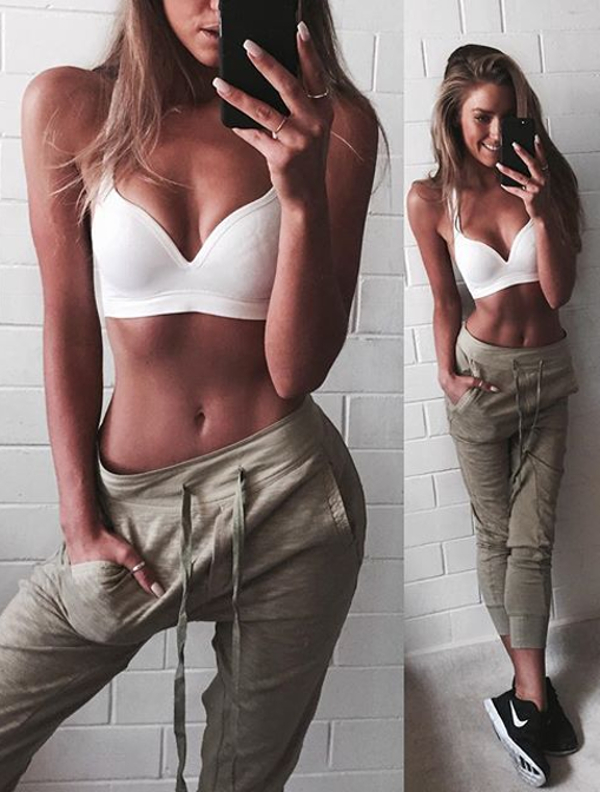 Women's Chic Street Casual Style Summer Sweatpants