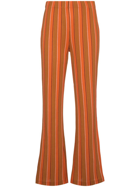 Simon Miller women cotton yellow orange pants