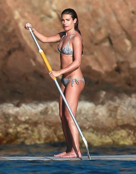 bikini lea michele summer sports