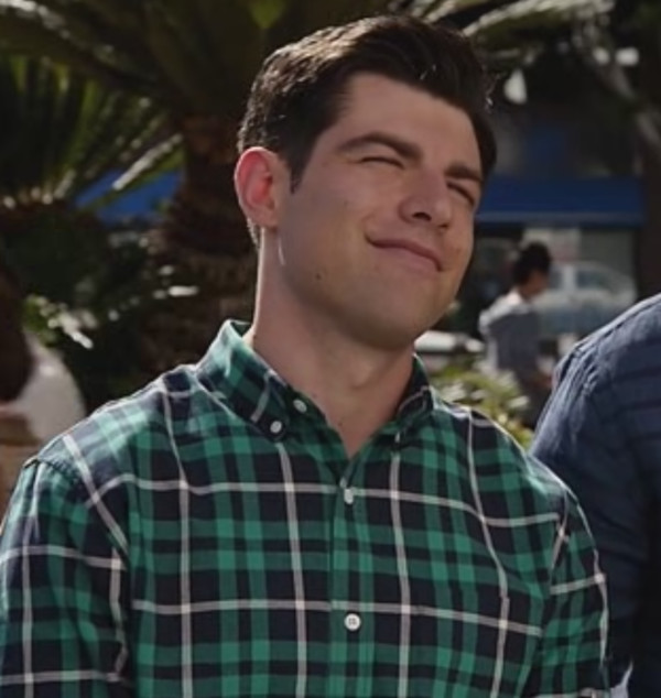 new girl mens shirt max greenfield