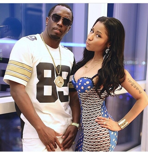 dress p diddy puff daddy nicki minaj
