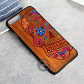 top,skull,sugar skull,dia de los muertos,wood,mexico,iphone case,phone cover,iphone x case,iphone 8 case,iphone7case,iphone7,iphone 6 case,iphone6,iphone 5 case,iphone 4 case,iphone4case