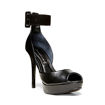 NAHLA BLACK MULTI women's dress high platform - Steve Madden