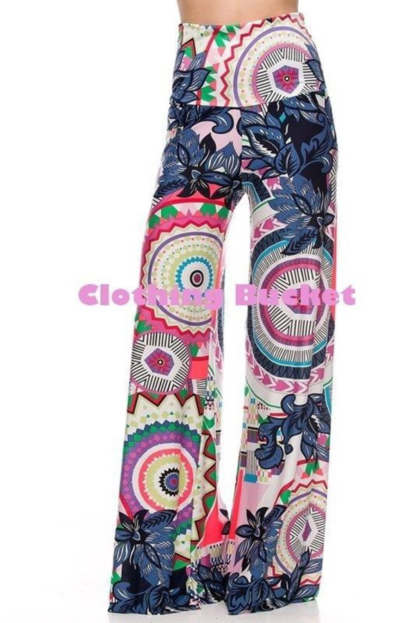 wide leg flare flare flared leg palazzo pants palazzo pants party formal back to school. summer fall outfits fall outfits south beach bold print printed pants