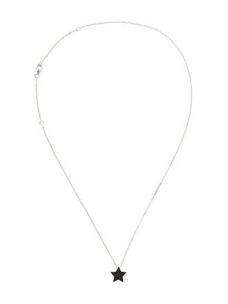 women necklace pendant white jewels