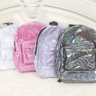bag glitter pink dress backpack glitter dress holographic white dress t-shirt jeans sunglasses nail polish grey sweater style back to school grunge bedding cyber ghetto soft ghetto