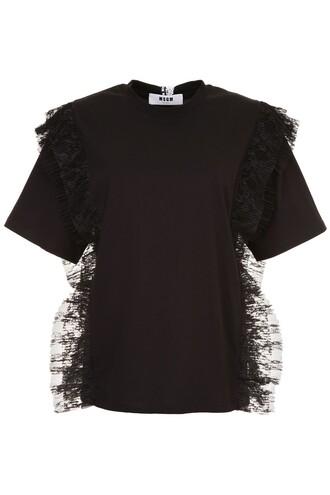 t-shirt shirt lace top
