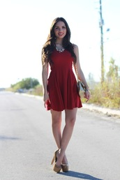 dolly skater dress,dress