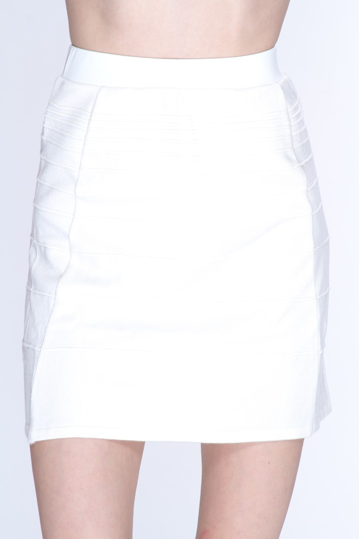 White Ribbed Texture Stylish Skirt @ Amiclubwear Clothing Skirts Online Store:Long Skirt,Mini Skirts,Poodle Skirt,Plaid Mini Skirt,Micro Mini Skirt,Jeans Skirts,Black Mini Skirt,Up Skirt,Short Skirts,Leather Skirts,Pencil Skirts,High Waist Pencil Skirt,Pl