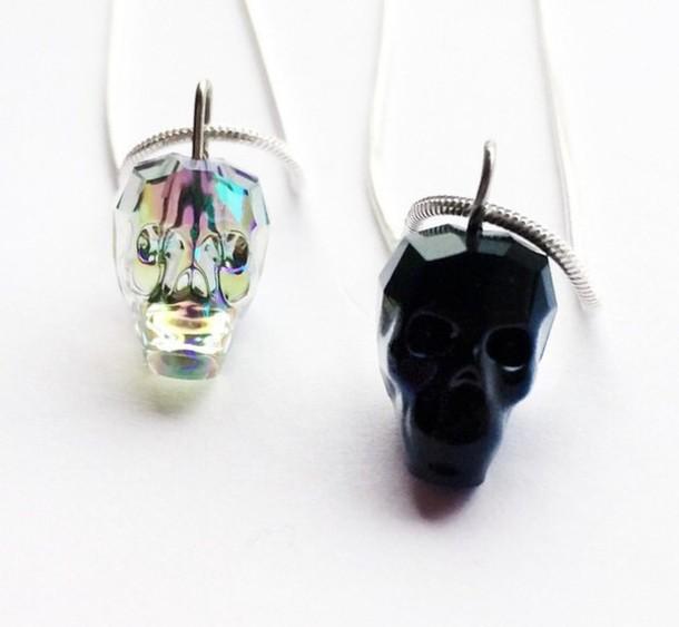 jewels grunge skull pastel grunge grunge jewelry