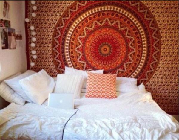 home accessory bedroom bedding boho dorm room