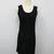 [SALE] Basic Mini Tank Dress - Black on Luulla