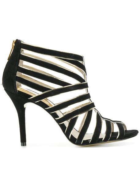 MICHAEL Michael Kors women sandals leather suede black shoes