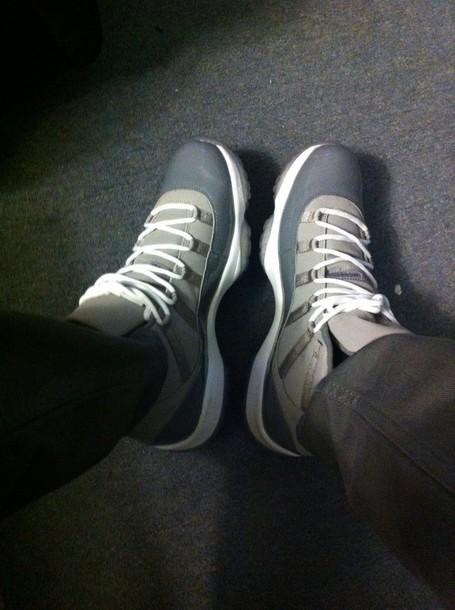 shoes jordans jordans air jordan 11 cool grey jordan 11 cool greys retro jordans retro sneakers mens shoes