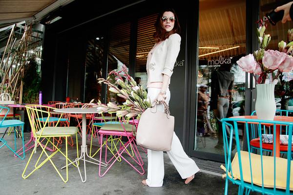 maritsa jacket pants bag jewels shoes sunglasses