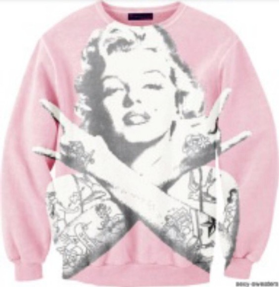 marilyn monroe sweater tattoo