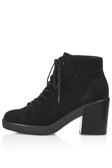 boots black boots ankle boots chelsea boots laceup lace up boots