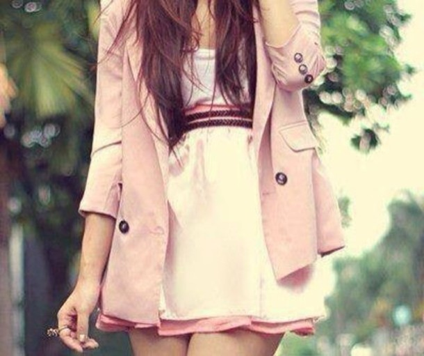 jacket dress belt skirt blouse
