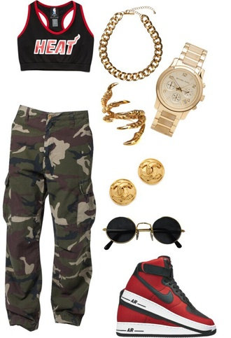 pants miami heat outfit shoes top