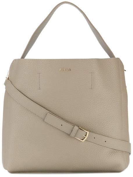 Furla women bag shoulder bag leather nude