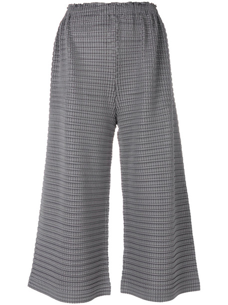 Pleats Please By Issey Miyake culottes women grey pants