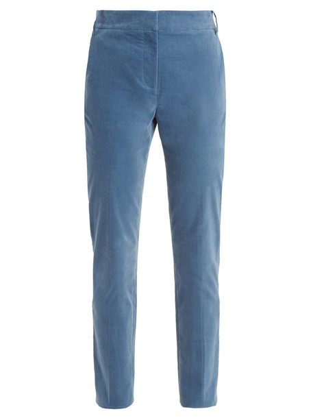 Tibi cotton blue pants