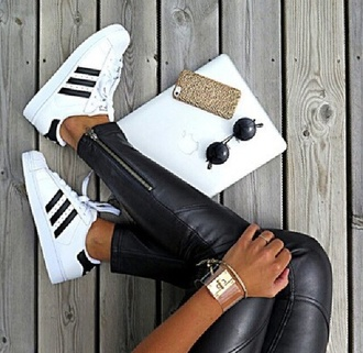 shoes adidas black and white sneakers adidas shoes