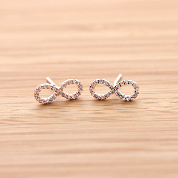jewels jewelry earrings stud. stud earrings infinity infinite infinity earrings infinite earrings