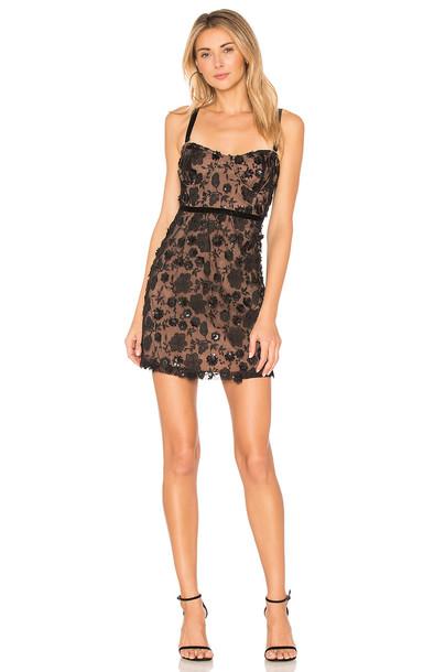For Love & Lemons dress mini dress mini strappy black
