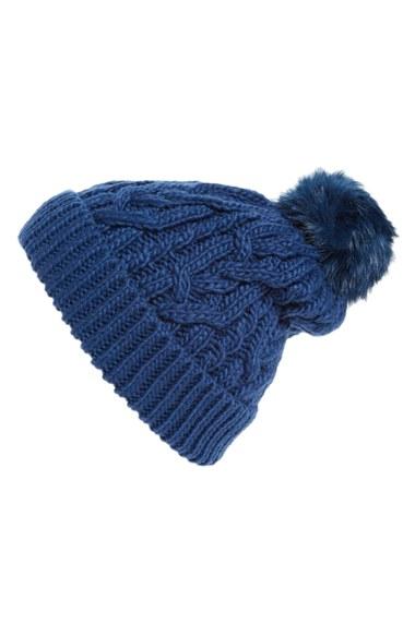 Hinge Knit Pompom Beanie  d0f649f43d5