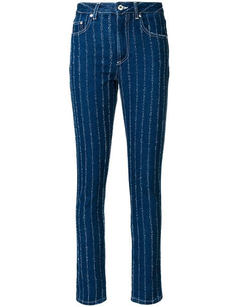 MSGM jeans skinny jeans women cotton blue