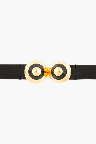 waist black belt women belts and suspenders gold accent