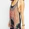 Multi strapy racer back detail tribe pattern cami dress