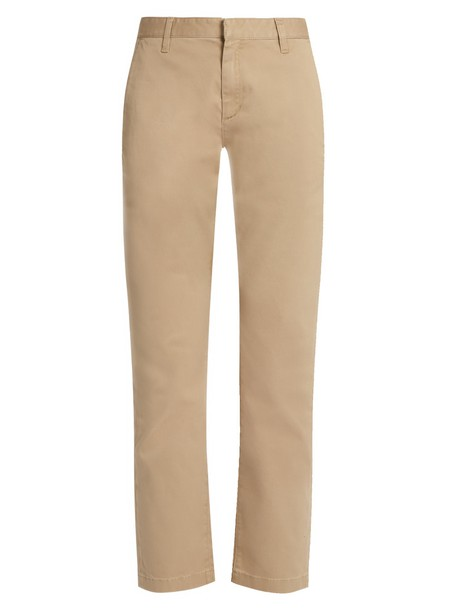 Saint Laurent cotton beige pants