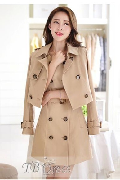 trench coat nude nude coat nude trench coat double breasted coat