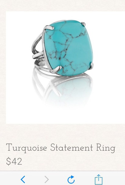 jewels turquoise ring