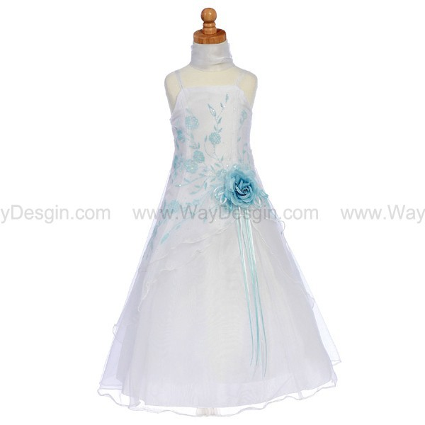 blue flower girl dress flower girl dresses blue dress dress