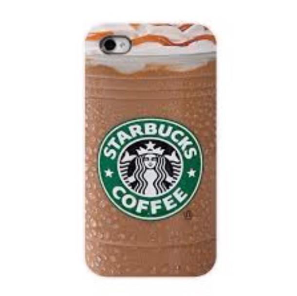 phone cover starbucks coffee earphones